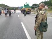 Indígenas realizam manifestação em Palhoça