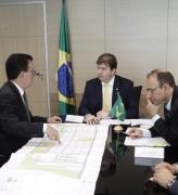 Hélio Costa busca recursos para Palhoça