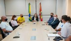 Governadora recebe demandas do setor de eventos