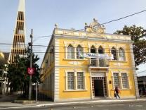 Antigo Paço Municipal está sendo reformado para receber a Casa da Cultura