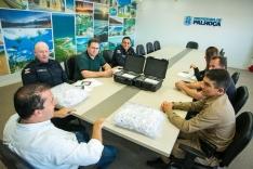 PM e agentes de trânsito recebem bafômetros