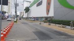 Prefeitura faz testes no trânsito