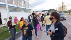 Professores e alunos da Ponte do Imaruim reclamam  de horários do transporte coletivo