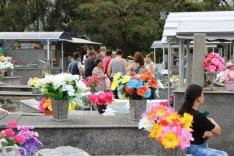 Palhoça prepara cemitérios para o feriado