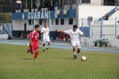 Base do Guarani faz amistoso internacional
