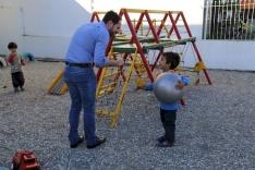 Fabinho visita CEI Interação no bairro Bela Vista