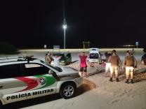 PM realiza ações nas praias
