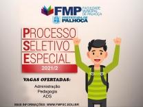 FMP abre inscrição para processo seletivo especial