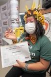 Covid: Palhoça tem a primeira cidadã vacinada
