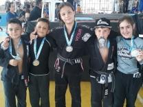Garotada do jiu-jitsu é destaque