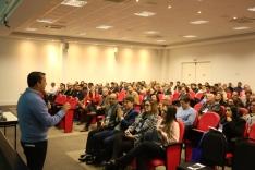 Prefeito e secretária participam de seminário