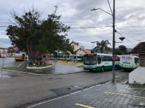 Estefano pede a retirada dos ônibus da Jotur da Pracinha