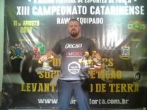 Rogerio Anderle é campeão catarinense