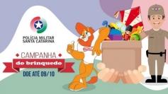Polícia Militar de Santa Catarina realiza Campanha