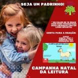Campanha Natal da Leitura apadrinha crianças em PH