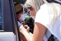 Continua a vacinação de palhocenses com 60 anos