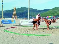 Esportes na areia