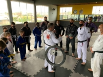 Jiu-jitsu: capacitação reúne profissionais em PH
