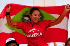 Tainá vence competição sub-16 em Maresias (SP)