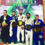 Equipe de jiu-jitsu é destaque em evento