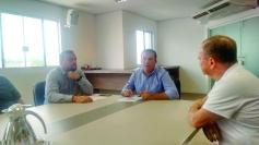 Conseg da Ponte do Imaruim se reúne com prefeito
