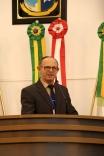 Manoel Gaspar, o popular Néco, recebe homenagem na Câmara
