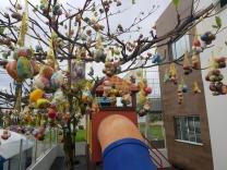 A maior árvore de Páscoa de Palhoça