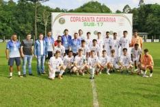 Guarani é vice na Copa SC Sub-17