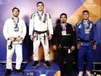 Atleta de Palhoça vence Europeu de jiu-jitsu
