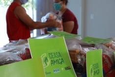 Ceasa entrega cestas básicas para Brejaru