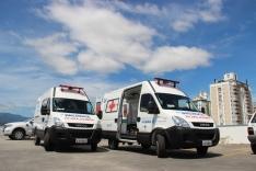 Novas ambulâncias para a Saúde