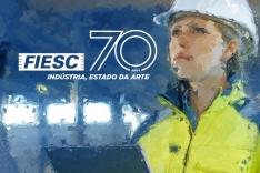Fiesc lança campanha de celebração de 70 anos