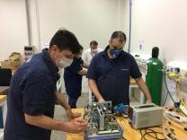 Instituto Senai entrega respiradores consertados