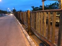 Construção de deque na Praia do Sonho questionada