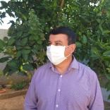 Luciano Pereira: importância do uso da máscara