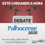 Candidatos confirmam presença no debate