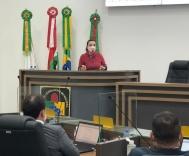 Secretária de Saúde fala na Câmara de Vereadores
