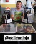AlienNinja faz sucesso no Anime Gakuen