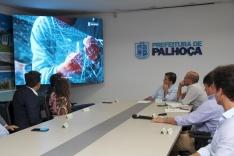 Todo-poderoso do Grupo Globo visita a cidade