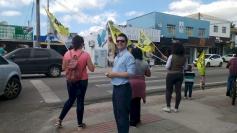 Malagoli encontra eleitores na Ponte do Imaruim