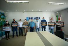 """Nazareno Martins: """"O trabalho por Palhoça continua"""""""