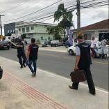 Palhoça lança o programa Calçada Livre