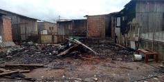 Com casa incendiada, munícipe pede ajuda
