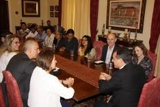 Governador recebe lideranças indígenas