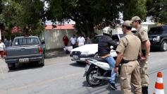 PM registra primeira prisão por boca de urna