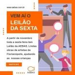 Leilão da Aebas começa em novembro