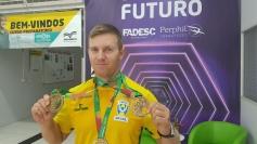 Cleomar da Silva é destaque em competição