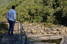Vereador Fabinho analisa falta de água em Palhoça