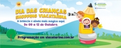 Dia da Criança no ViaCatarina tem espetáculos gratuitos