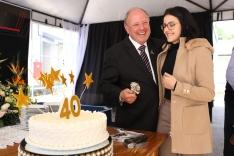 Olsen completa 40 anos de fundação